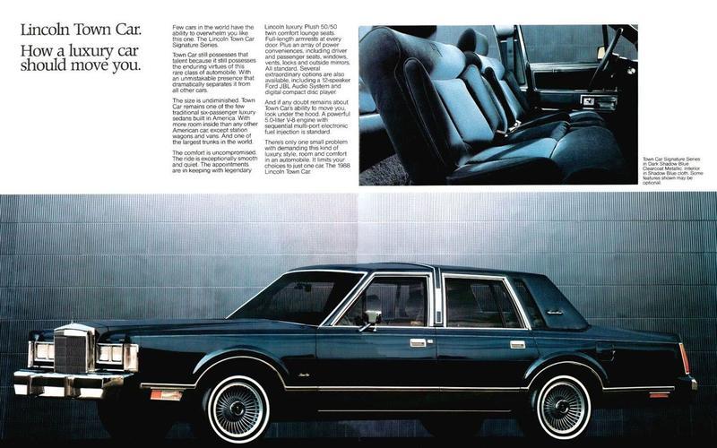 CD PLAYER: Lincoln Town Car (1987)