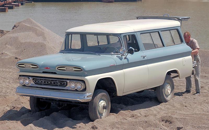 Chevrolet: Suburban