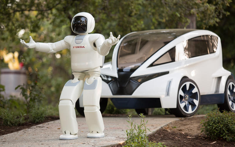 Honda's robot
