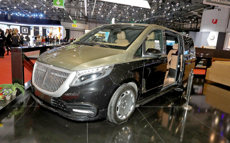 Ertex Maybach van