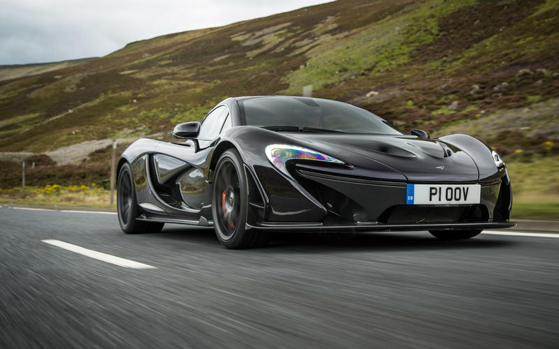 McLaren P1 (2013-2015)  – 217mph