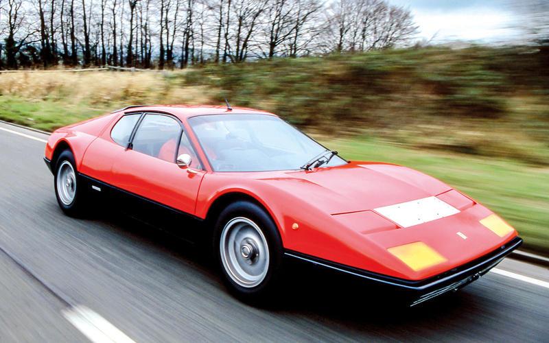 1970s: Ferrari 512 Berlinetta Boxer: 188mph (303 km/h)