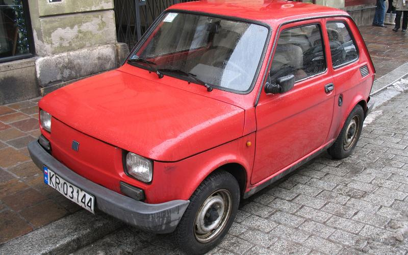 Polski-Fiat 126p (1973)