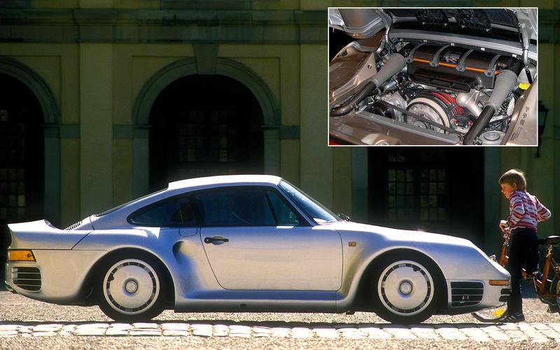 Porsche 959: 155.8bhp/litre