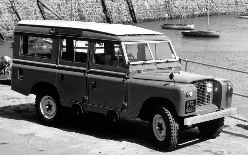 Land Rover Series IIa (1961)