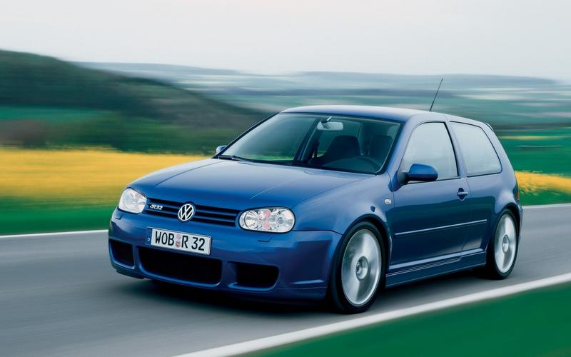DUAL-CLUTCH AUTOMATIC TRANSMISSION: Volkswagen Golf R32 (2003)