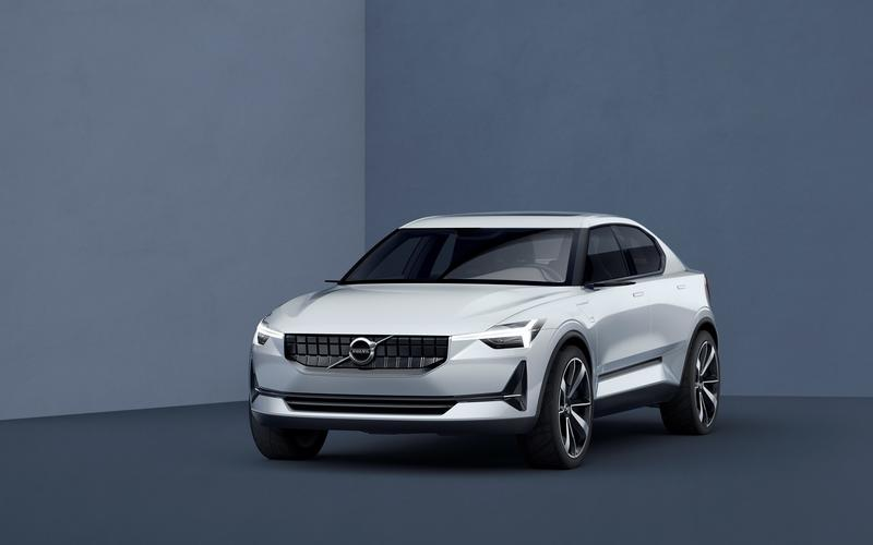 Volvo electric hatchback (2019)