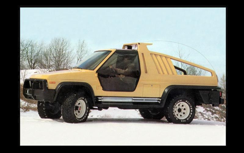 Bronco Montana Lobo concept (1981)