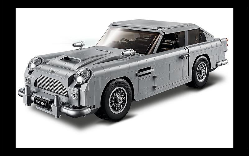 James Bond's Aston Martin DB5 (Creator Expert set #10262, US$219/£198)