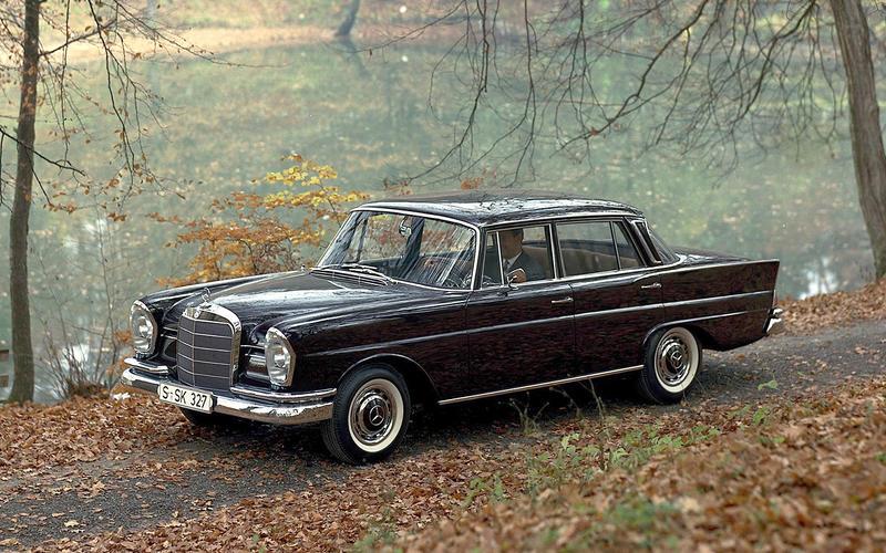 Mercedes W111 range