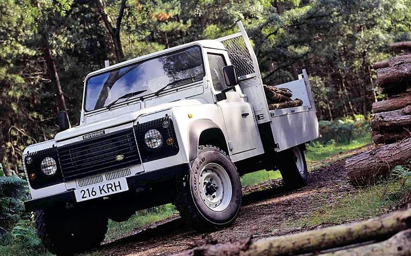 Land Rover Defender 110 Tipper
