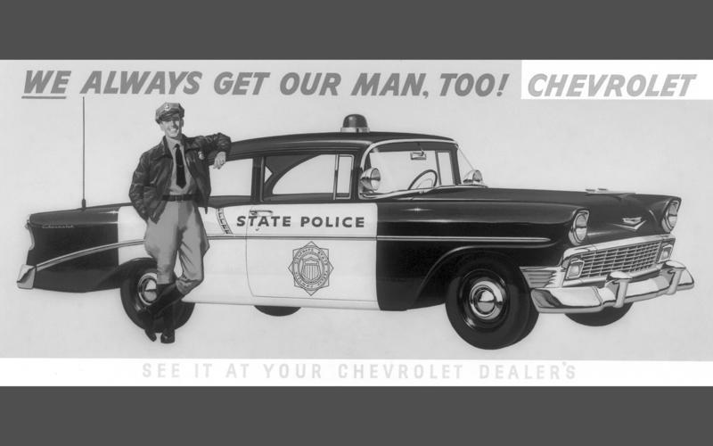 Glory days of the Big Three police cruiser | Autocar