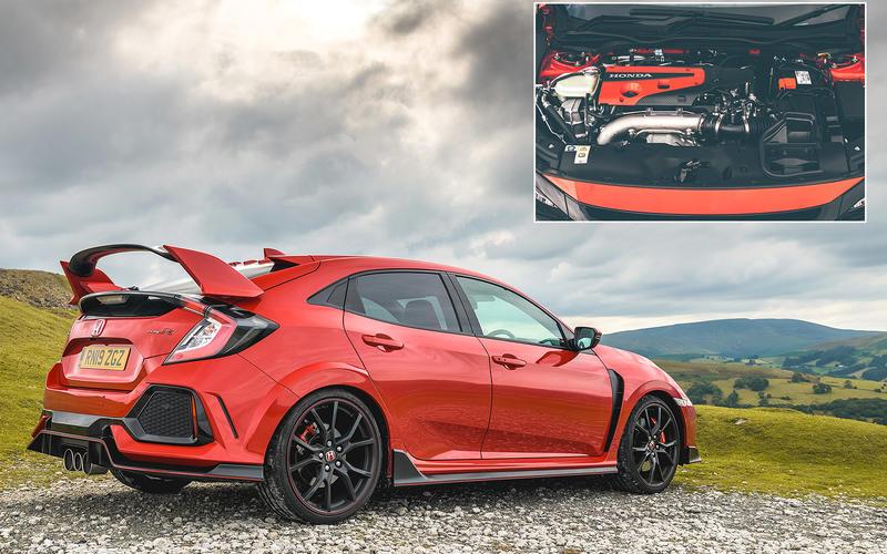 Honda Civic Type R: 158.3bhp/litre