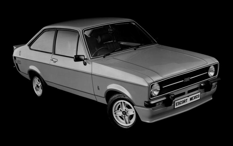 Ford Escort RS Mexico (1976)
