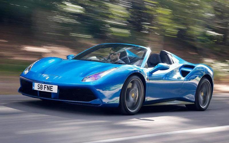 11: Ferrari 488 spider