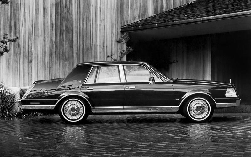 Lincoln Continental turbodiesel (1983)