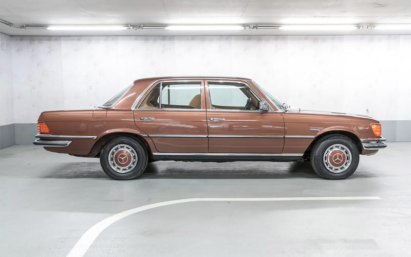 1974: Mercedes-Benz 450SE