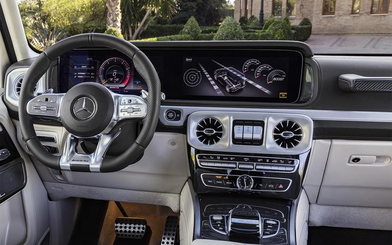 Mercedes-Benz G-Class G63 AMG - from £143,370