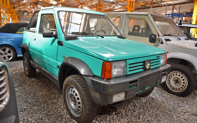 Puch Panda 4x4 prototype (1991)