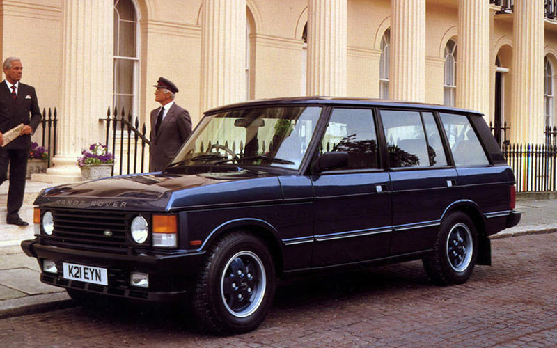 Range Rover LSE 1992 - static front