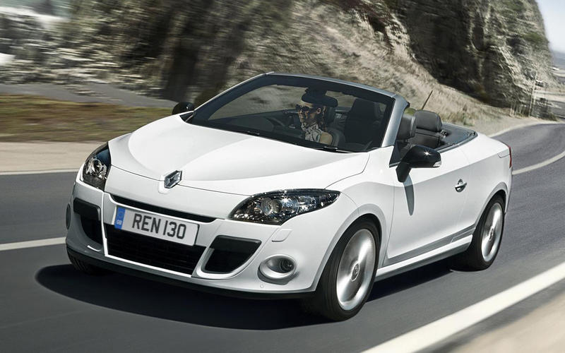 Renault Megane CC (from £500)