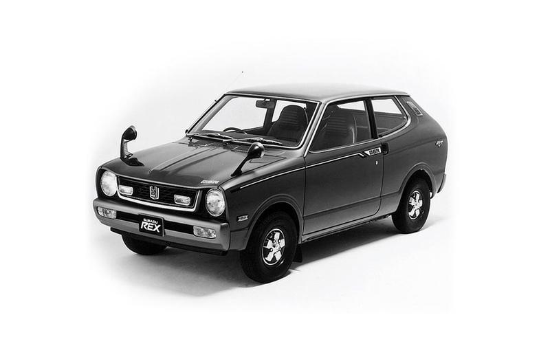 Subaru Rex (1972)