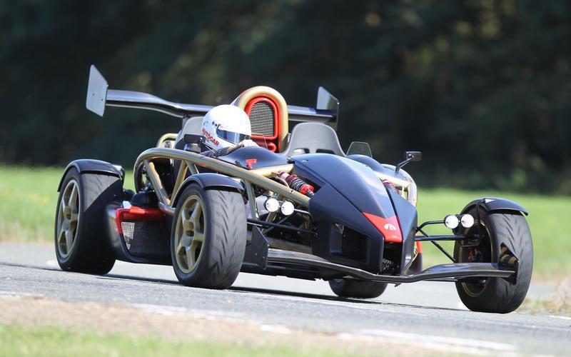 12: Ariel Atom 500 V8: 1min 8.40secs