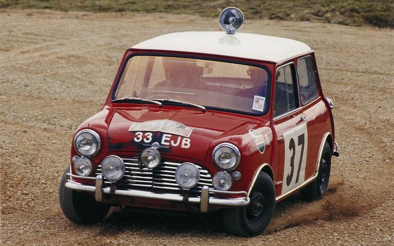 The Mini takes Monte Carlo (1964)