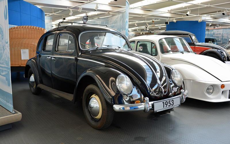 The four-door Beetle (1953)