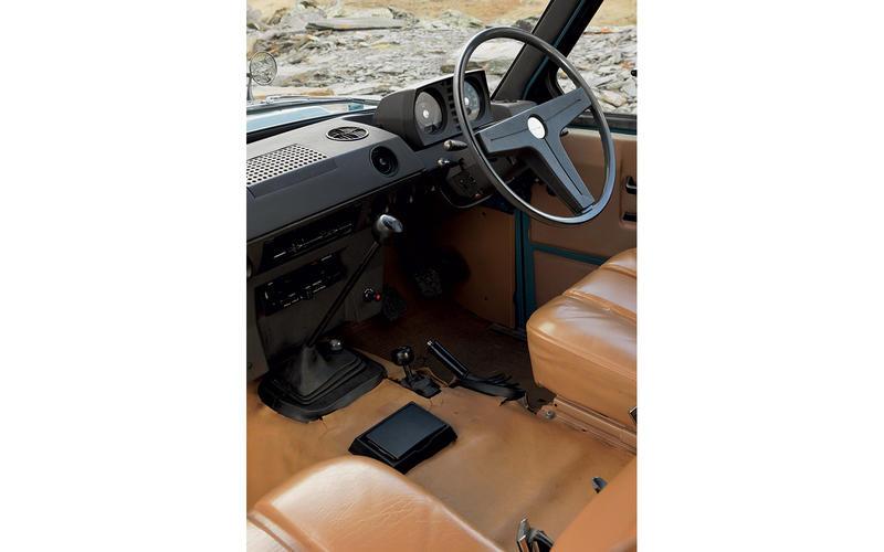 Range Rover (1970) - interior