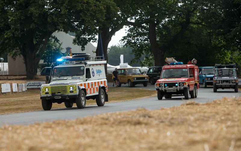 Land Rover search and rescue