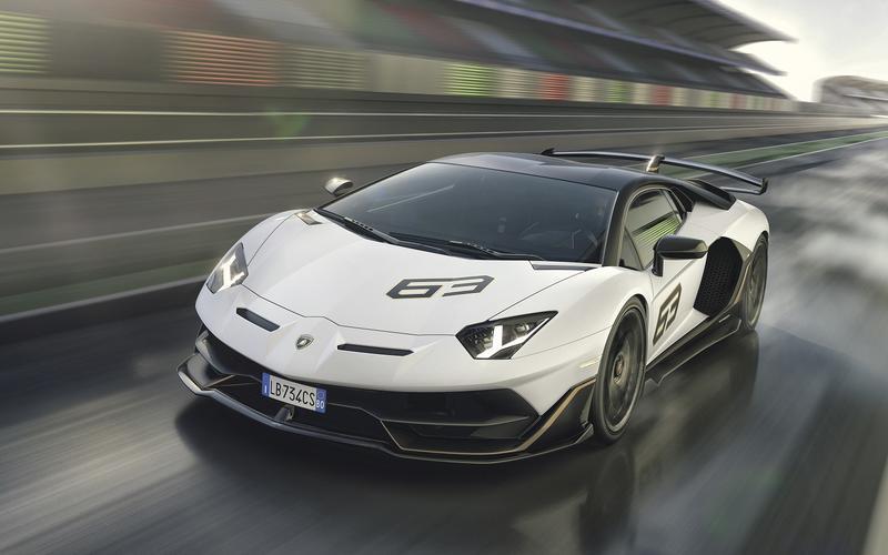 Lamborghini's fighting bulls