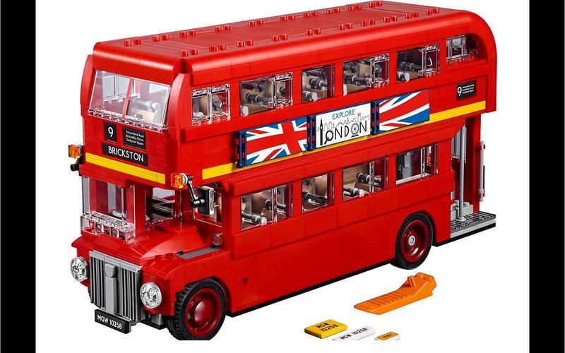 London bus (Creator Expert set #10258, US$140/£108)