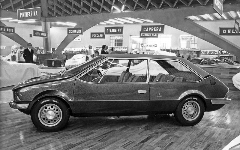 Fiat 128 Coupé Shopping (1969)