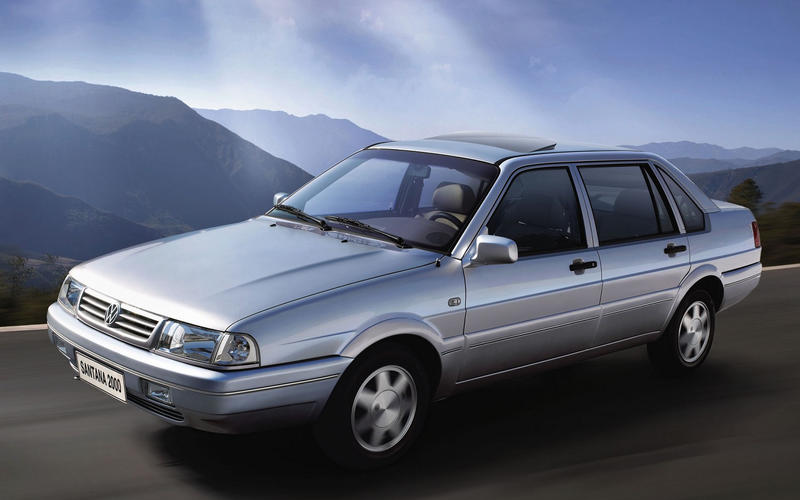 Volkswagen Santana (1981-2012) – 31 YEARS