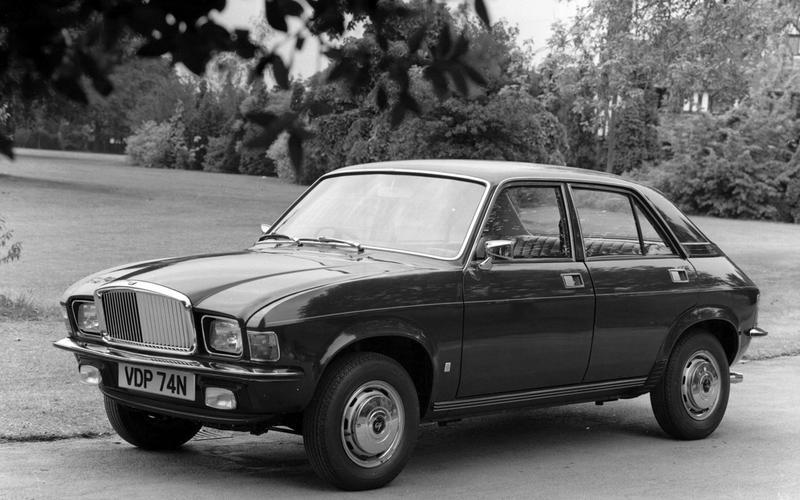 Vanden Plas 1500 (1974) – 2 models
