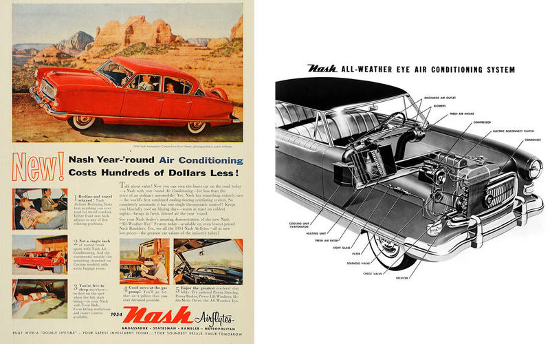 AIR CONDITIONING: Nash Ambassador (1954)