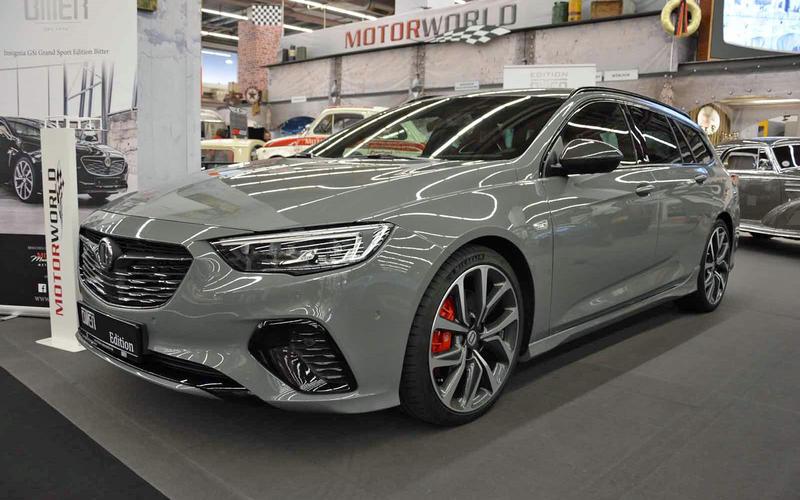 Opel Insignia Grand Sport Edition Bitter