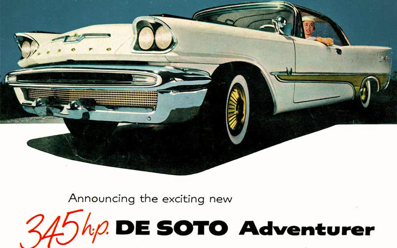 19: 1957 De Soto Adventurer Coupé