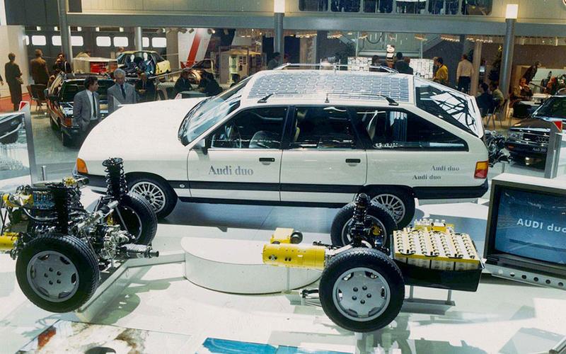quattro goes hybrid