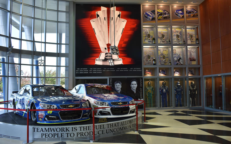 Hendrick Motorsports reception