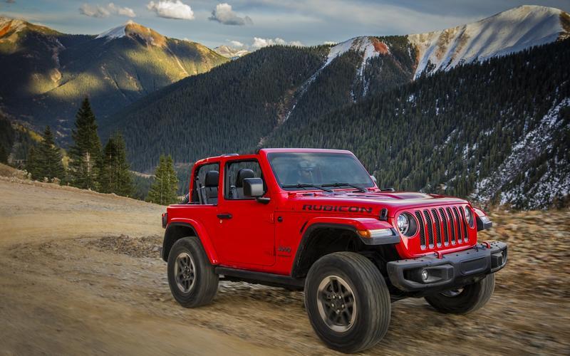 12. Jeep Wrangler (2020)