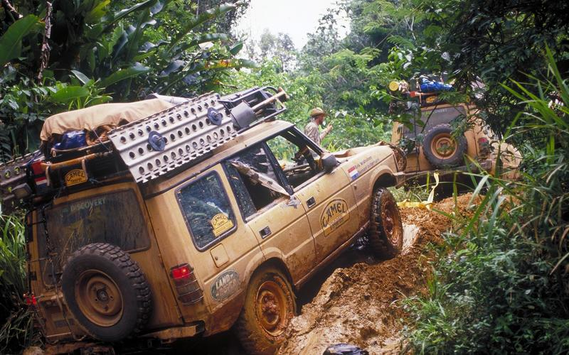 The Discovery takes on the Camel Trophy (1990)