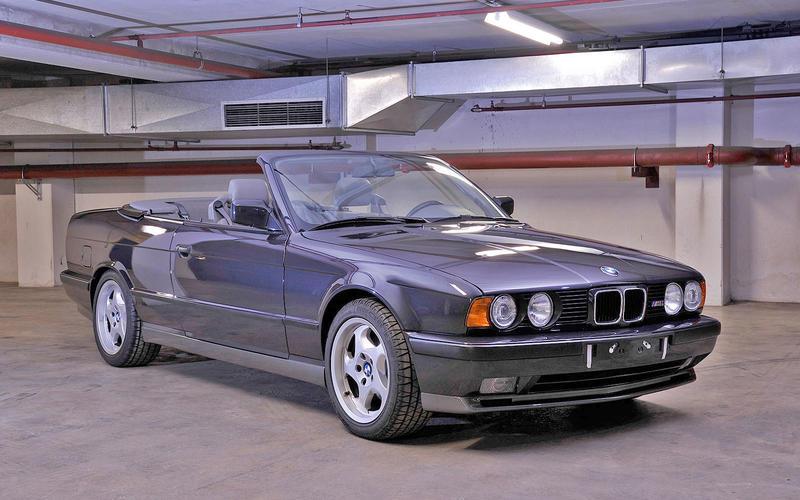 BMW M5 E34 convertible (1989)