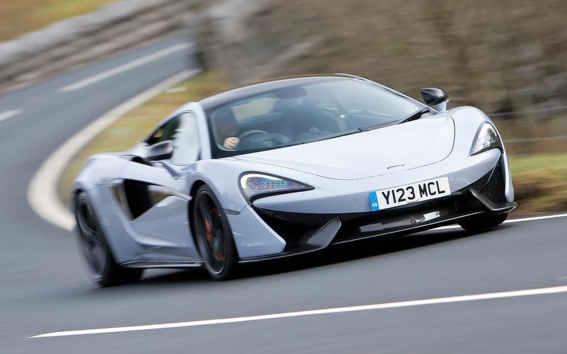 10: McLaren 570S