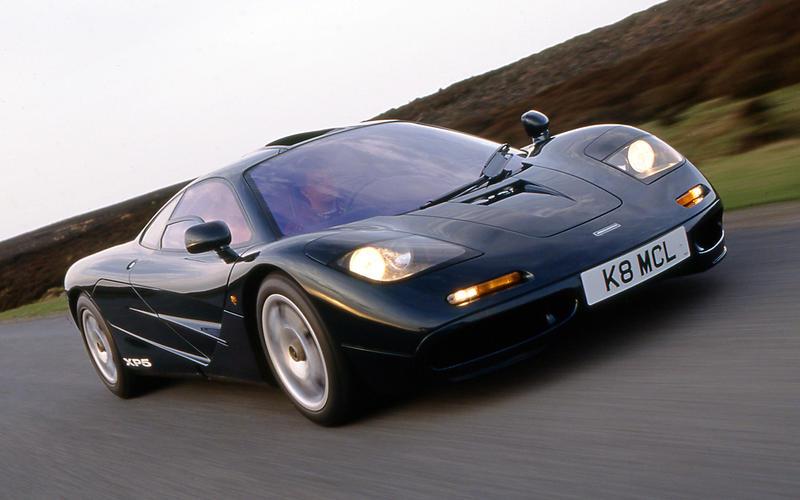 1990s: McLaren F1: 240mph (386 km/h)
