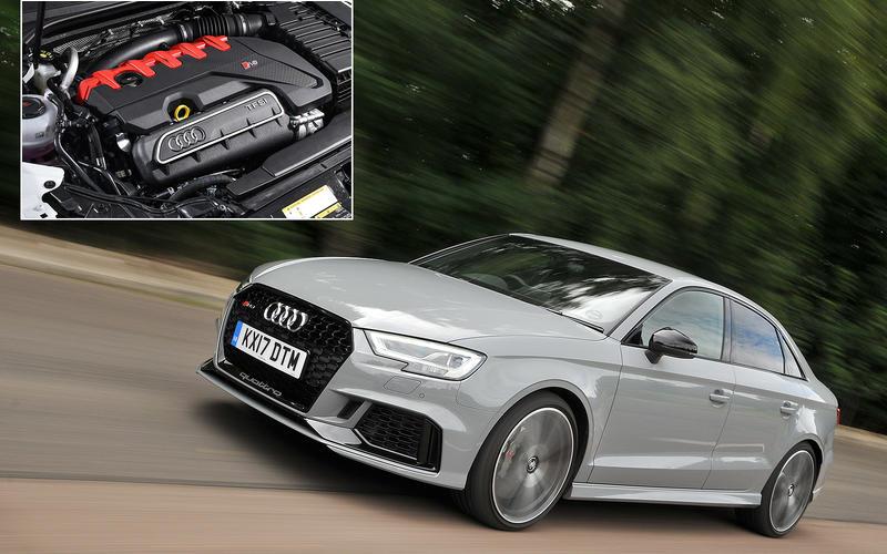 Audi RS3: 159.3bhp/litre
