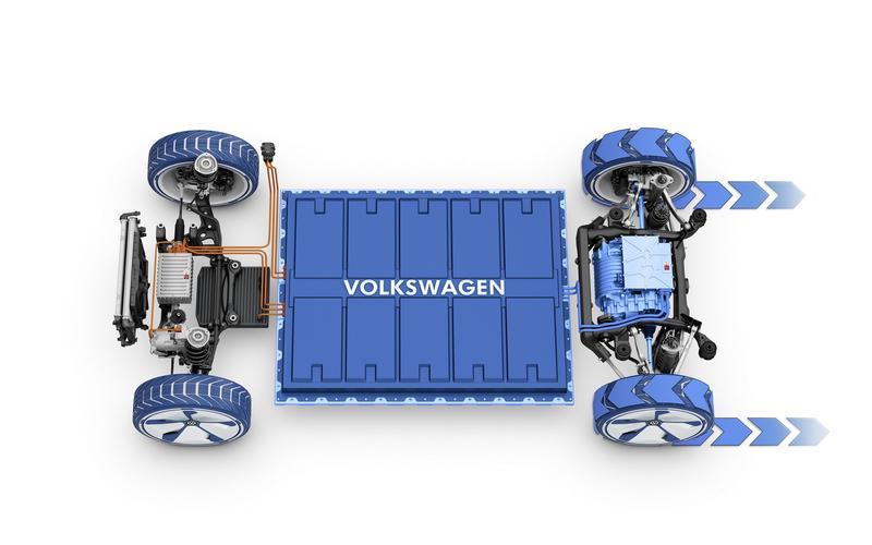 MEB no VW I.D. com tração apenas traseira