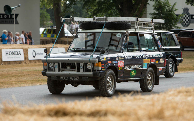 Trans-Americas expedition Land Rover