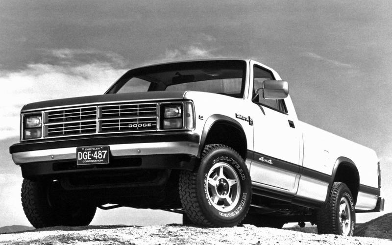 Dodge Dakota, first generation (1986)